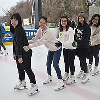 Student Activities B.H.M.S. Lucerne - Ice skating